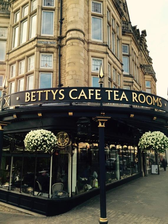 Frontage of Betty's Tearooms, Harrogate