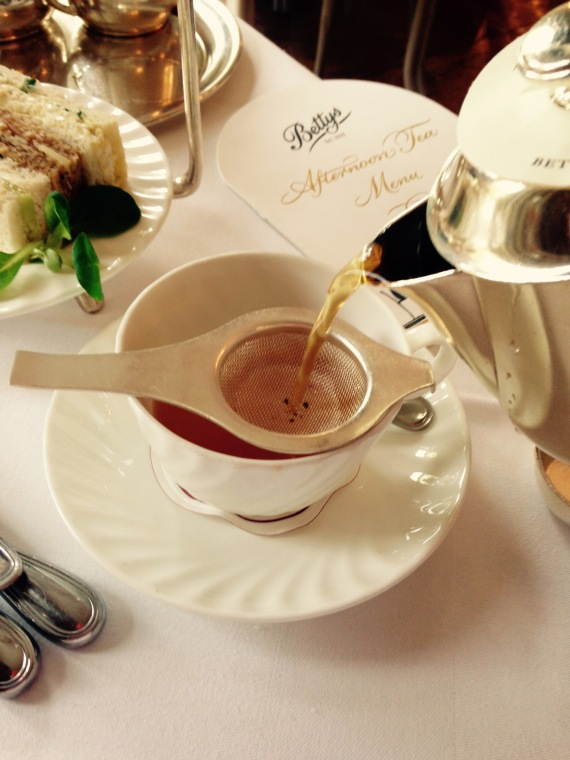English Breakfast Tea at Betty's Tearooms, Harrogate