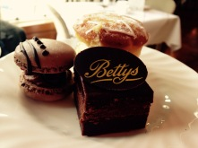 Miniature cakes - afternoon tea at Betty's Tearooms, Harrogate