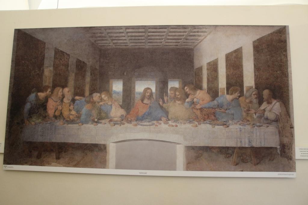 Da Vinci's The Last Supper at Santa Maria Delle Grazie, Milan