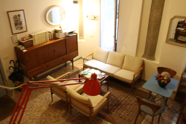 Seating area at Ca' Monteggia Guest House, Milan