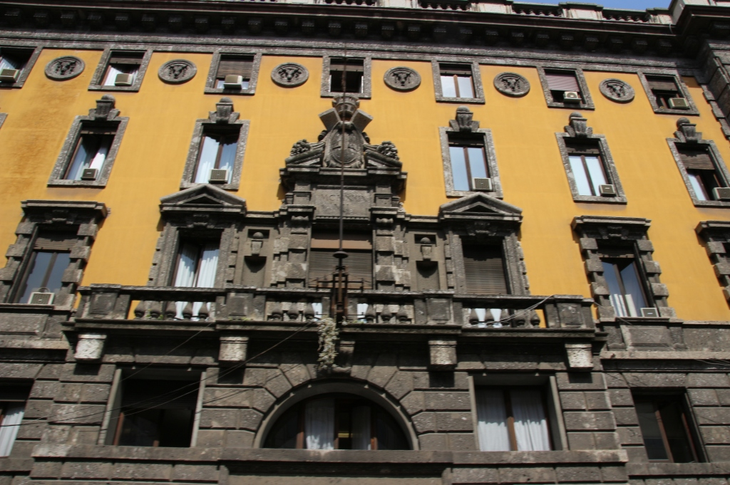 Beautiful architecture in Milan