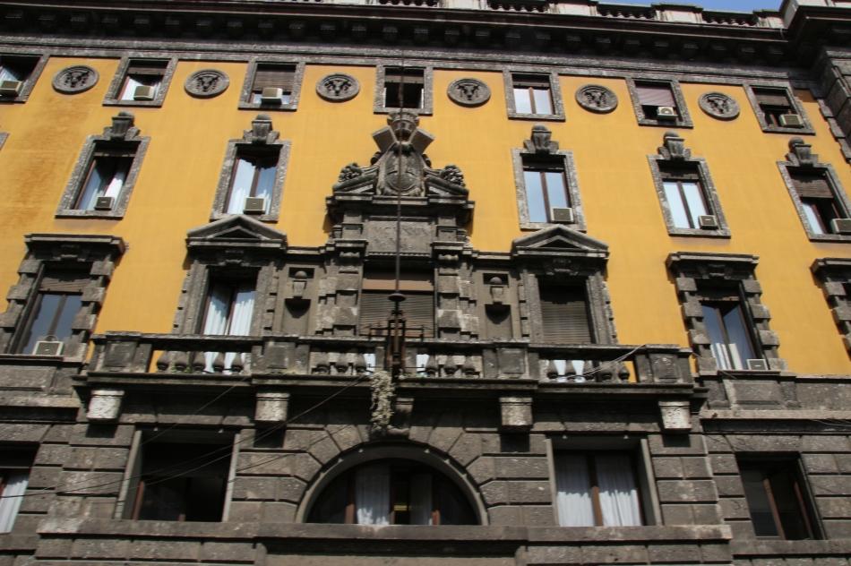 Beautiful architecture in Milan