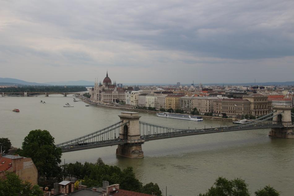 Pest Skyline taken from Buda, Budapest