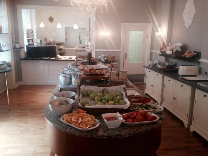 The breakfast room at Best Western Hebron, Copenhagen, Denmark