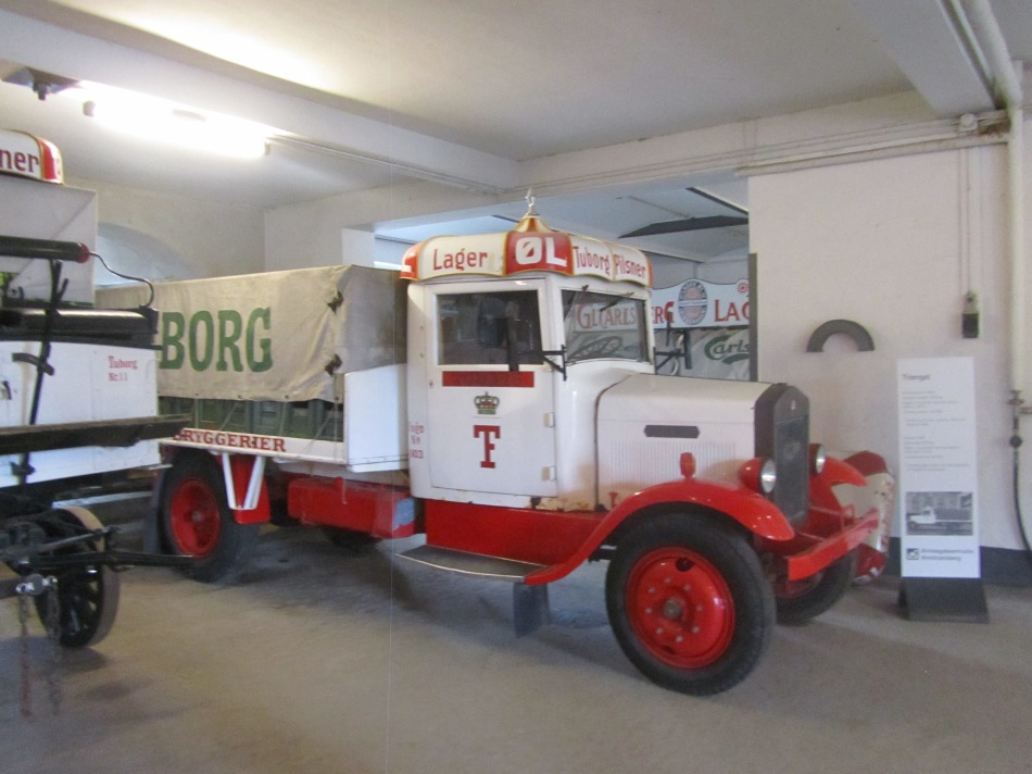 How Carlsberg was originally delivered at Visit Carlsberg in Copenhagen, Denmark