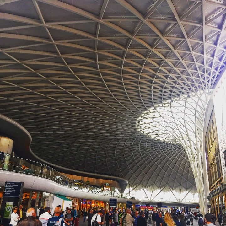 Ceiling at Kings Cross Train Station, London