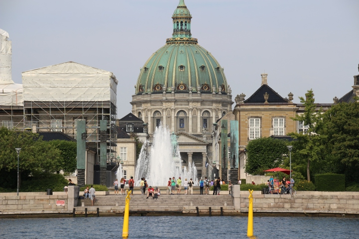 Amalienborg, the Danish Royal Family's winter home in Copenhagen