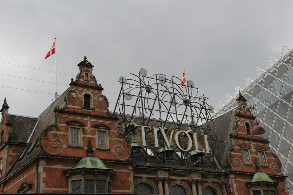 Tivoli in Copenhagen, Denmark