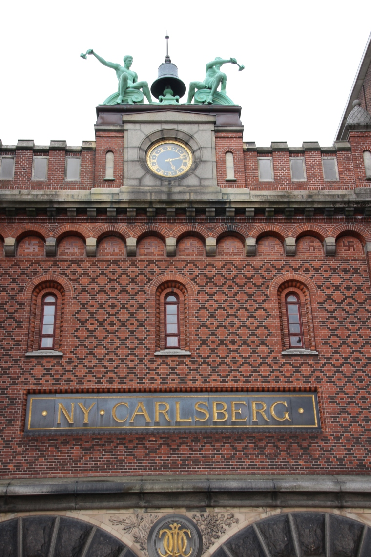 Entrance of Visit Carlsberg in Copenhagen, Denmark