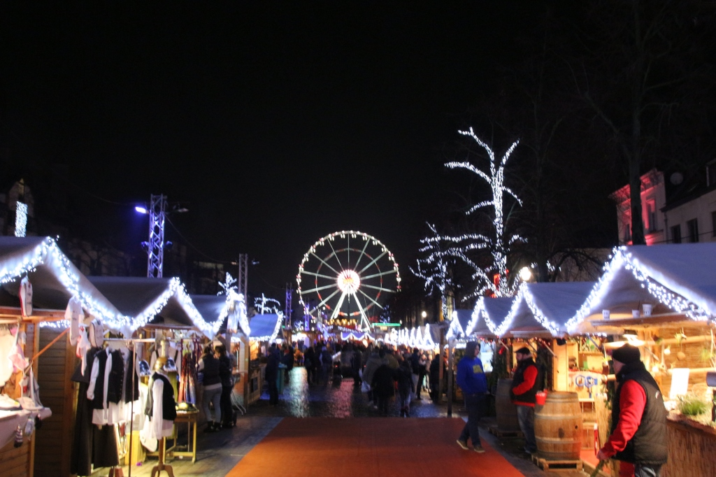 Christmas Market in Brussels, Belgium