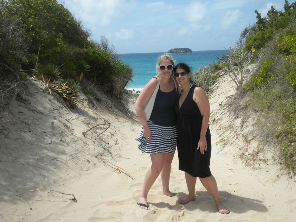 Anisa & Katherine in St Barts