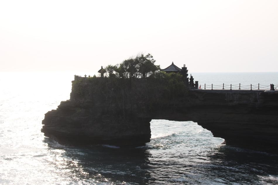 Rock formation at Tanah Lot, Bali