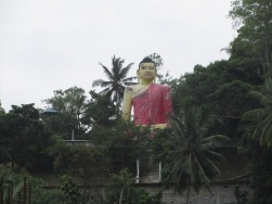 Big buddha in Galle, Sri Lanka