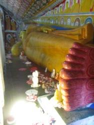 Reclining buddha at Yatagala Temple, Sri Lanka
