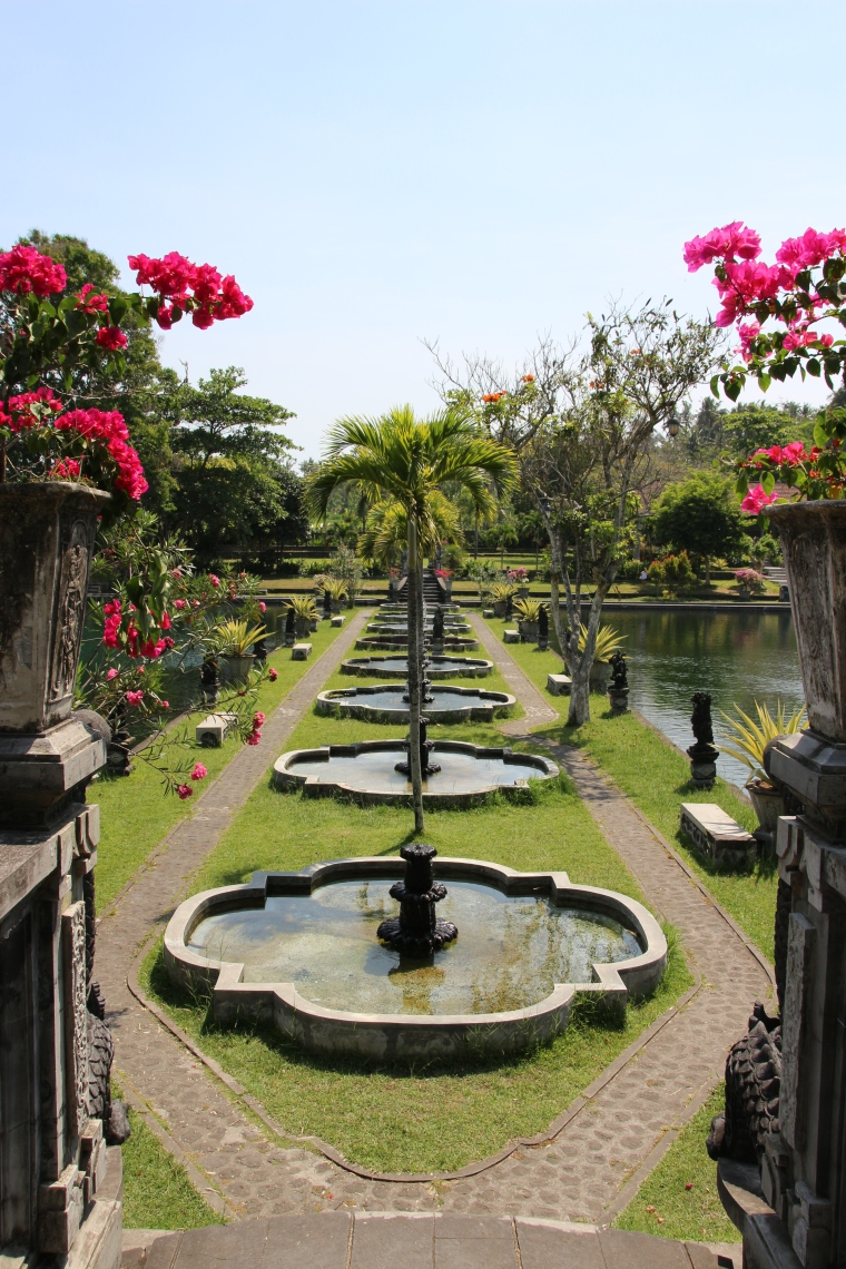 Gardens at Tirta Gangga Water Palace, Bali