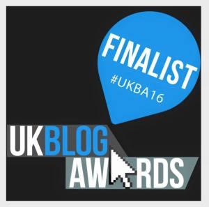 UK Blog Awards 2016 - Finalists