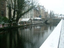 Beautiful Bruges in the winter