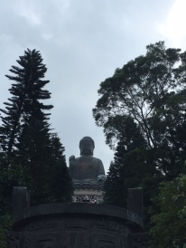 Steps up to the Big Buddha, Lantau Island