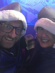 Mr ESLT & I at the Icebar London