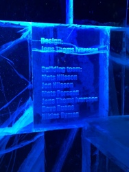 The ICEBAR LONDON designers