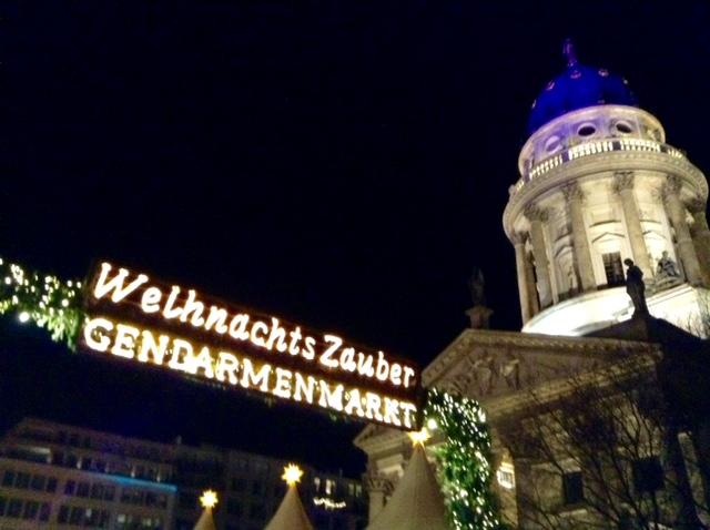 Germany: Glittering Gendarmenmarkt Christmas Market,Berlin
