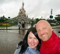 Mr ESLT & I at Disneyland Paris