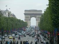 Champs Élysée & Arc de Triomphe, Paris