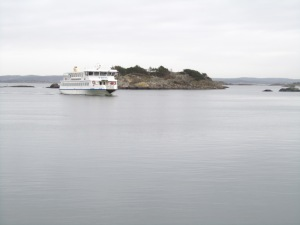 Ferry in the Souther Archipelago, Gothenburg