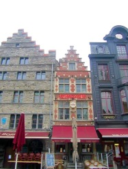 Buildings in Ghent, Belgium