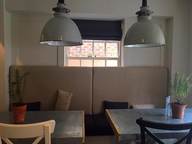 Beautiful interior at Filmore & Union, Beverley