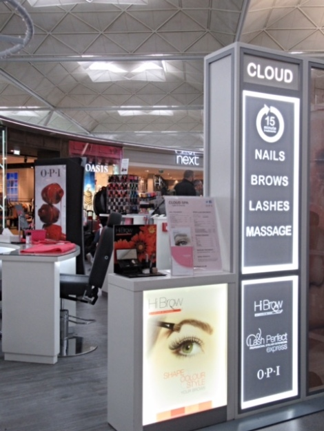 Lots of treatments on offer at Cloud Spa Stansted Airport