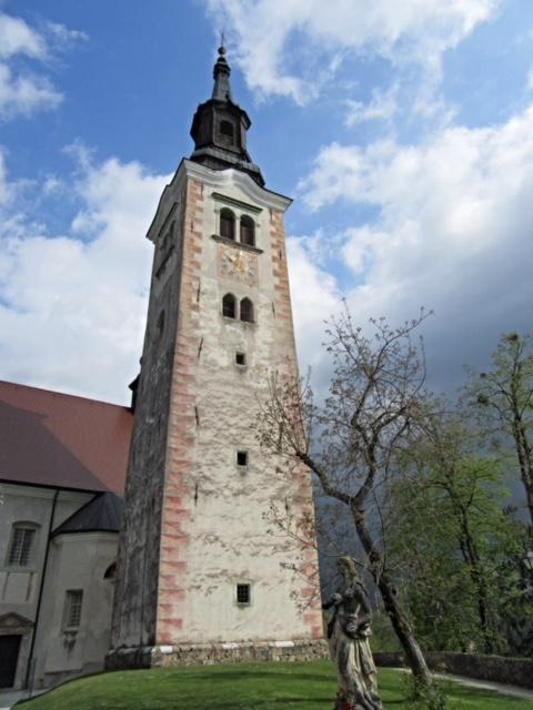 Church on the island, Lake Bled
