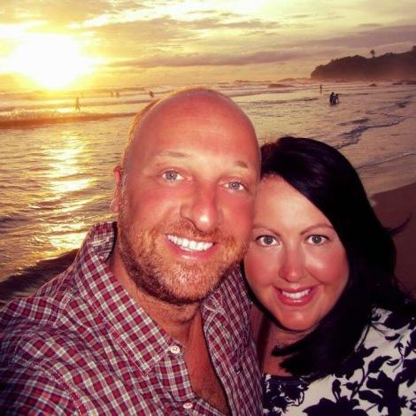 Mr ESLT & I in Sri Lanka