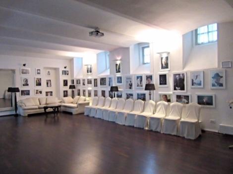 Function room at the Antiq Palace Hotel & Spa, Ljubljana
