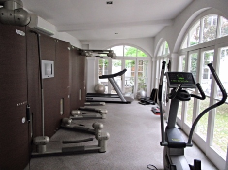 Gym at Antiq Palace Hotel & Spa, Ljubljana