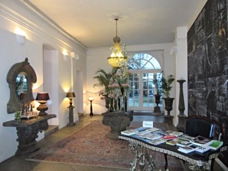 Reception area at Antiq Palace Hotel & Spa, Ljubljana