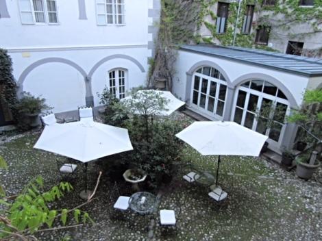 Courtyard at Antiq Palace Hotel & Spa, Ljubljana