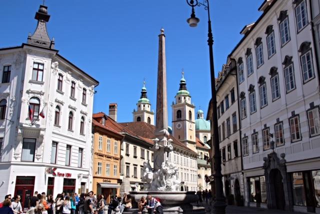 Beautiful spots in Ljubljana