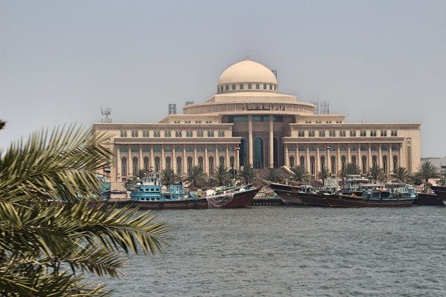 Beautiful architecture in Sharjah