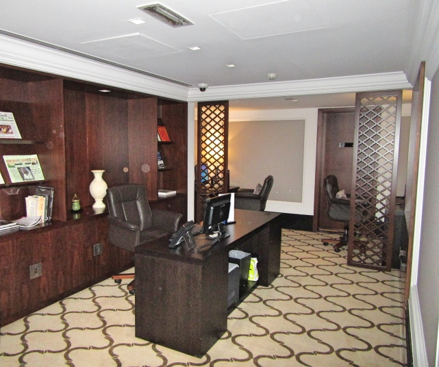 Business Centre at Taj Dubai Hotel