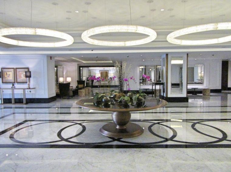 Entrance hall at Taj Dubai Hotel