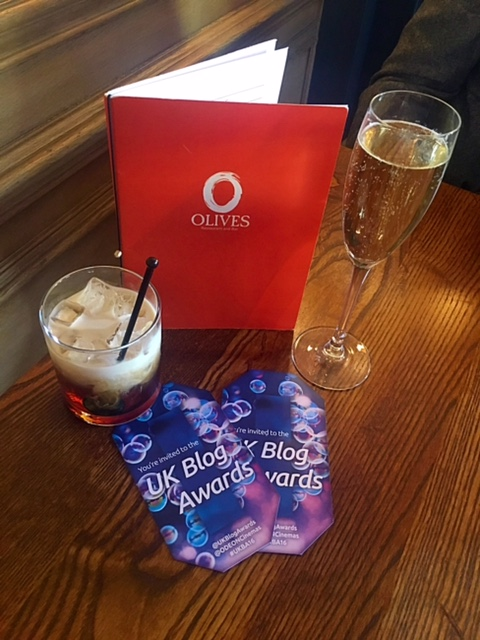 UK Blog Awards 2016 pre-drinks at The Bailey's Hotel