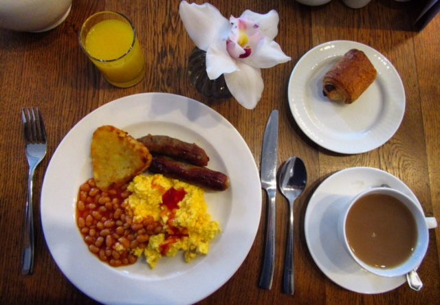 Breakfast at The Bailey's Hotel, London