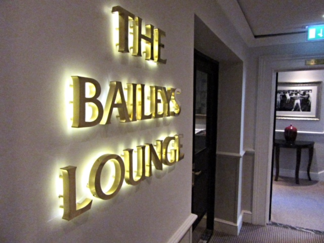 Entrance to The Bailey's Lounge at The Bailey's Hotel, London