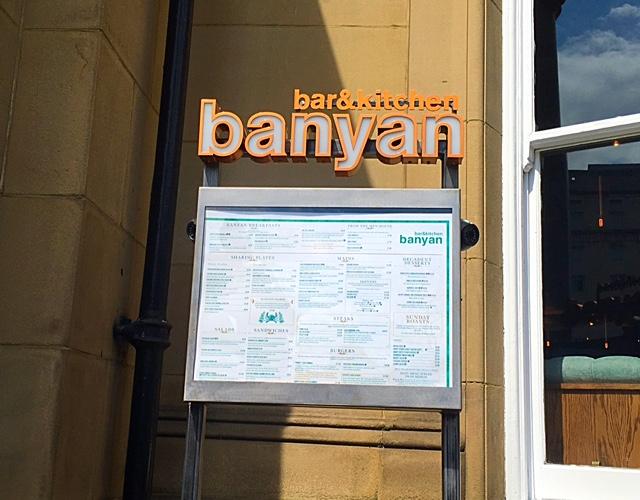 Great lunch at Banyan Bar & Kitchen, Leeds