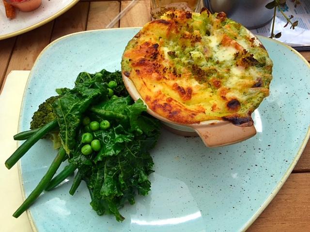 Luxury fish pie at Banyan Bar & Kitchen, Leeds