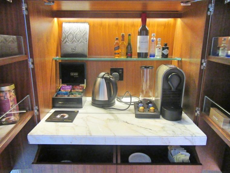 Nespresso Machine at Taj Dubai Hotel