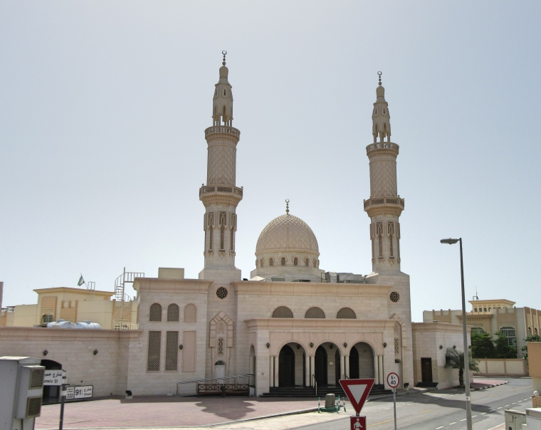 One of many Mosques in Dubai