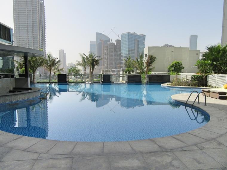 Pool Area at Taj Dubai Hotel